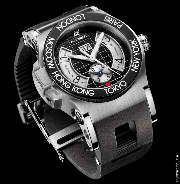 Online Shop Uhren Armbanduhr Jorg Hysek Dual Time